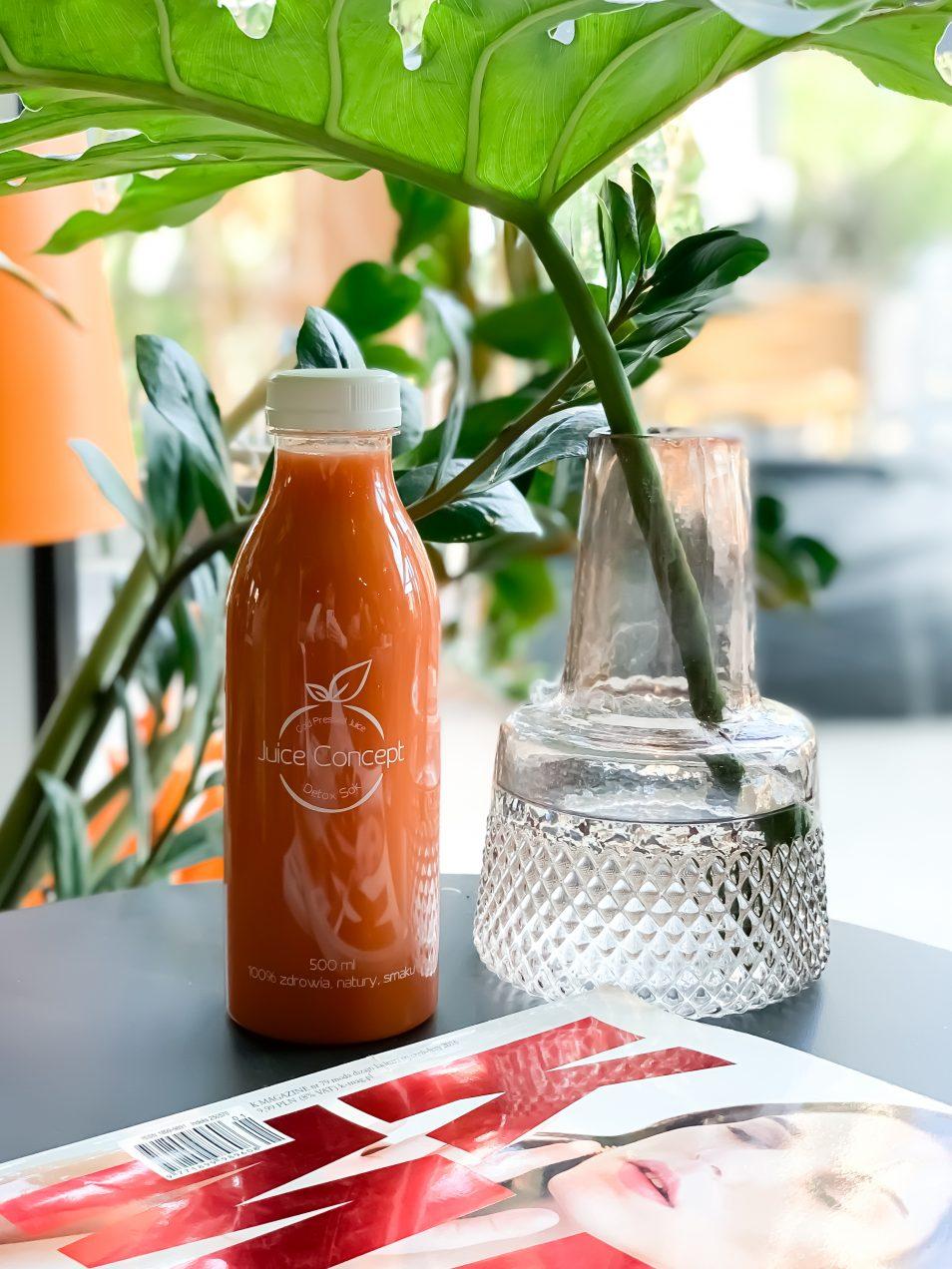Vitamin Glow   Juice Concept