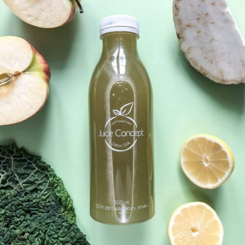 Pure Beauty Juice concept Cold Pressed Juice