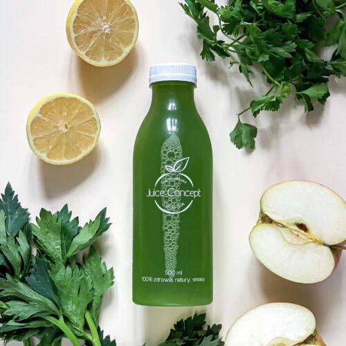 zielony sok oczyszczajacy organizm z toksyn GLOW ME