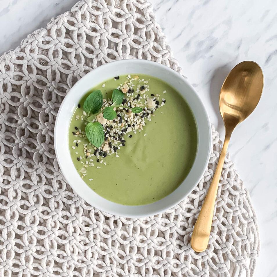 Zupa z zielonego groszku | Juice Concept