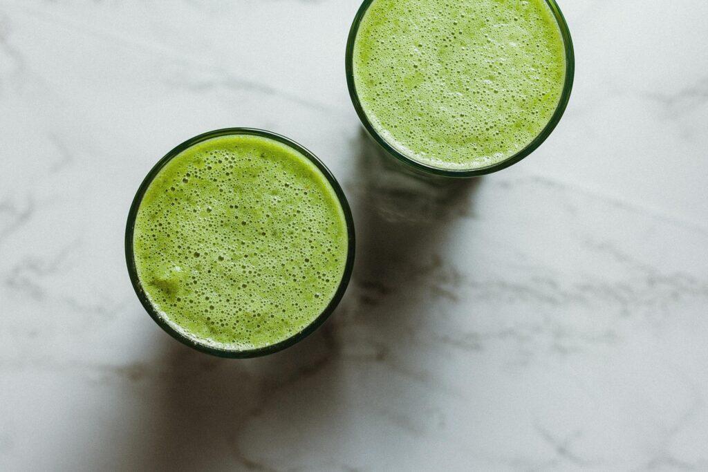 zielone soki i koktajle dlaczego warto je pić